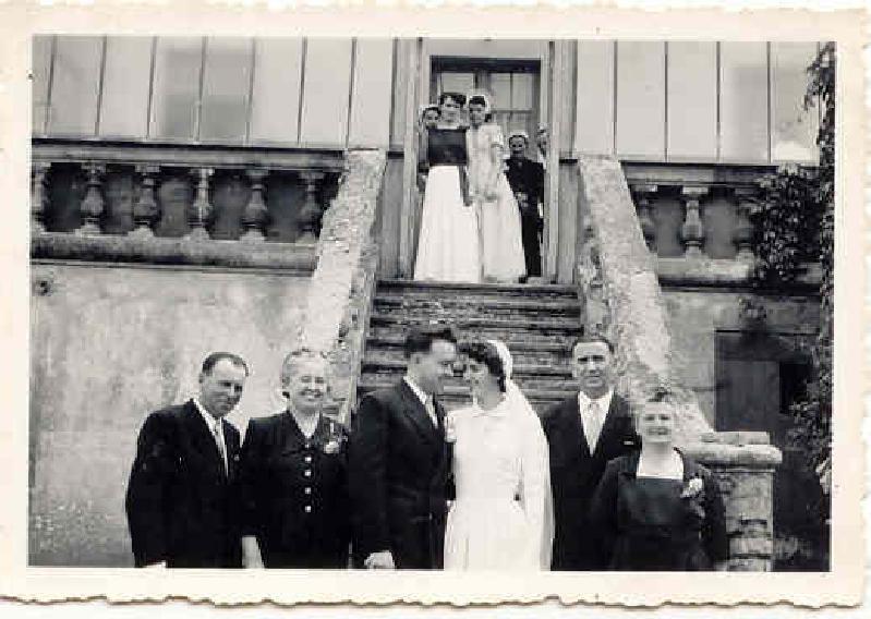 Mariage PELLENYves-HARROYSimone