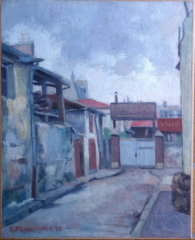 Tableau_Flandrinck_Roger_1939_Ruelle